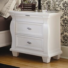 Monaco 3 Drawer Nightstand
