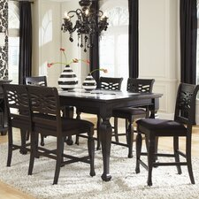 Monaco 6 Piece Counter Height Dining Set