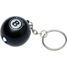 Novelty Items Eight Ball Key Chain with Led Light