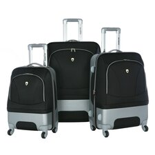 Majestic 3 Piece Expandable Luggage Set
