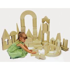 75 Piece Hardwood Building Block Set