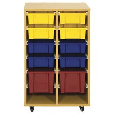 Storage Trolley with 10 Trays