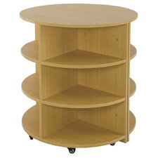 Two Piece Round High Storage Center