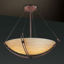 Porcelina 6 Light Inverted Pendant