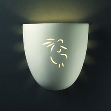 Sun Dagger Pocket 1 Light Outdoor Wall Sconce