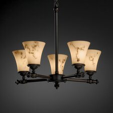 Tradition LumenAria 5 Light Chandelier