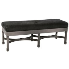 Cedarvale Faux Leather Bench