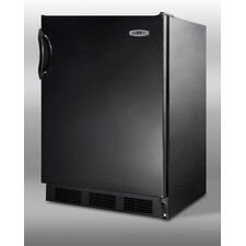 "33.25"" x 23.63"" Refrigerator in Black"