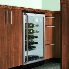 Wine Cellar with Factory Installed Lock in Black