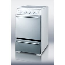 Slide-in Look Electric Range