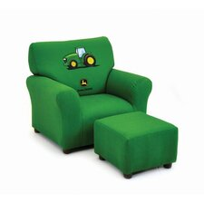 Kids Club Chair and Ottoman