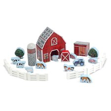 Farm Blocks Play Set