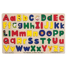 Upper and Lower Case Alphabet Puzzle