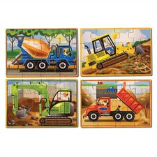 Construction in a Box Wooden Jigsaw Puzzle