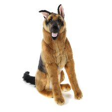 Large German Shepherd Plush Stuffed Animal