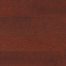 "Solid 3-1/4"" Maple Strip Flooring in Cherry"