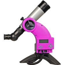 Astroboy 60mm Computerized Table Telescope in Pink