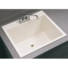 "Drop In 22"" x 13"" Service Sink"