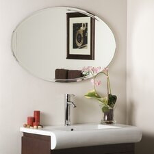 Frameless Marisol Wall Mirror