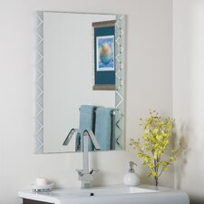 Frameless Butterfly Mirror