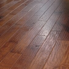 "5"" Engineered Hickory Flooring in Autumn"