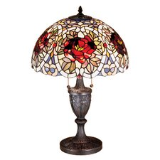 Renaissance Rose Table Lamp