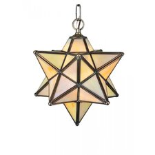 Moravian Star 1 Light Mini Pendant
