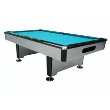 Silver Knight 7' Drop Pocket Pool Table