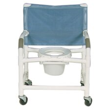 Extra Wide Deluxe Shower Chair and Optional Accessories