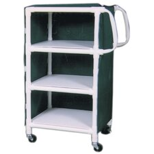Linen Cart with Cover and Optional Accessory Bags