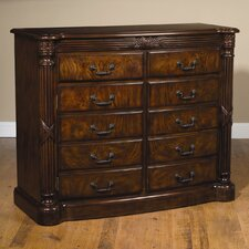 2 Drawer Bar Cabinet