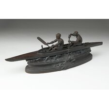 Two Boatmen Statue