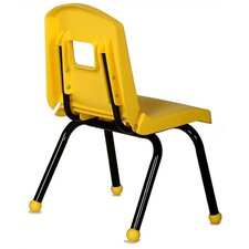 "Creative Mix and Match 12"" Plastic Classroom Stacking Chair"