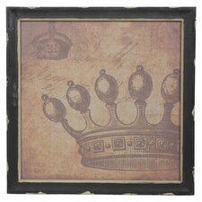 Vintage Crown Wall Decor