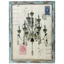Chandelier Print Wall Decor