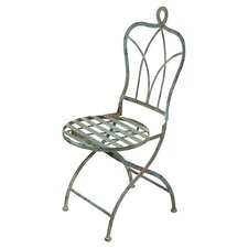 Iron Folding Bistro Chair