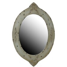 Oval Reclaimed Wall Mirror
