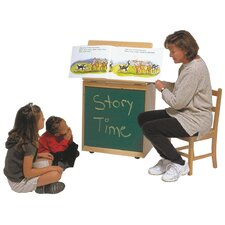 Big Book Easel Storage Chalkboard