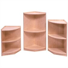 Curved End Storage Unit