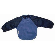 Long Sleeve Fleece Bib in Teal
