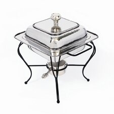 Nickel 2 Qt Square Chafing Dish