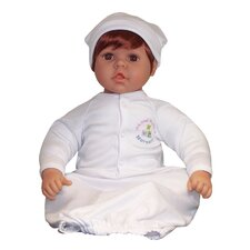 "20"" Nursery Collection Baby Doll Brown Eyes / Medium Reddish Honey"