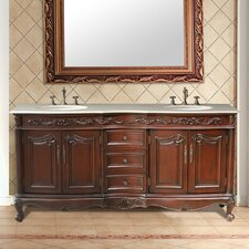 "Saturn 72"" Double Bathroom Vanity Set"