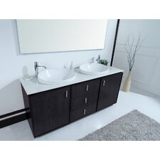 "72"" Cheshire Double Sink Vanity Set"