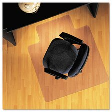 Lip Chair Mat, Economy Series for Hard Floors