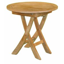 Round Folding Side Table