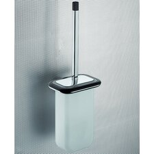 Odos Wood Wall Mounted Toilet Brush Holder in Wenge
