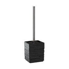 Quadrotto Toilet Brush Holder in Black