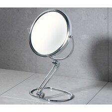 Specchio Magnifying Makeup Mirror in Chrome