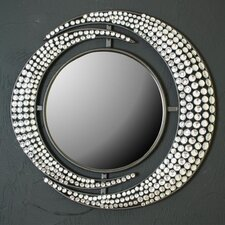 Diamante Double Crescent Mirror*